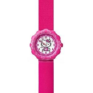 Flik Flak Uhren FLS016 Girl Kinderuhr Pre-School (5+) Hello Kitty PINK mit Geldbörse