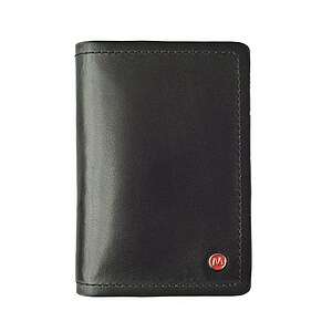 Lederaccessoirs von Mondaine Creditcard holder black NAC.D008
