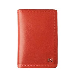 Lederaccessoirs von Mondaine Creditcard holder red NAC.D009