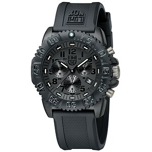 Luminox Uhren 3081.BO Blackout Chronograph Sea Colormark 3080 Series - 29244
