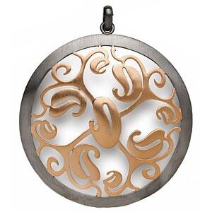 Bastian 9579 Inverun Pendant Silber Anhänger teilvergoldet