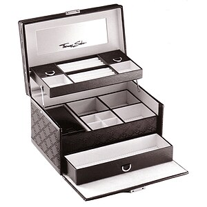 Thomas Sabo DK 90 Sterling Silver Schmuckkoffer Jewellery Case - 30388