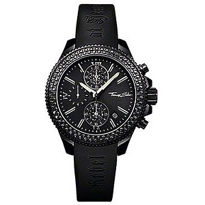 Thomas Sabo  Uhren WA 0035-208-203-38 Chronograph Rebel at Heart Sport schwarz - 30395