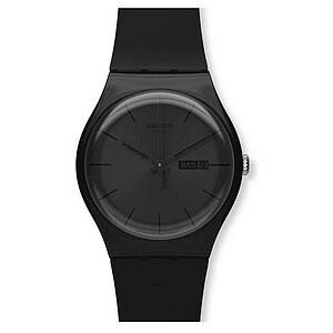 Swatch Uhr SUOB 702 New Gent Black Rebel