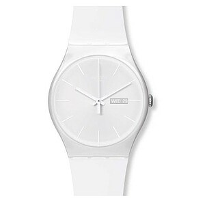 Swatch Uhr SUOW 701 New Gent White Rebel