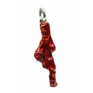 Drachenfels Design Neptuns Garden D PSG 39-2-2 AG Silber Koralle rot