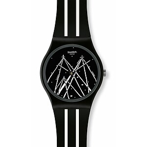 Swatch Uhr GZ 249 Gent Art MTV Playground I am a child of the night - 30894