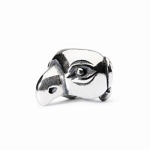 Trollbeads 1004102010 das Original - Lucky Parrot Silber Bead  Glückspapagei