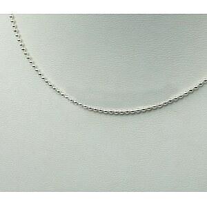 Drachenfels Design Silber-Kugelkette 42cm D KK 51 AG