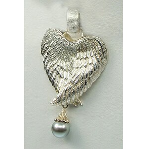 Drachenfels Design Angel by heart Engelflügel Perle D AH 33-1 AG