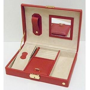 Schmuckkoffer Jewellery Case Constance rot 324329