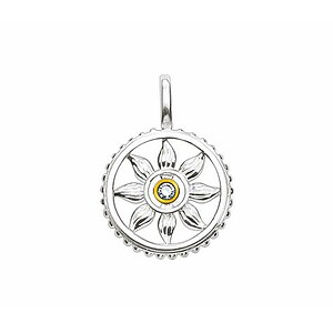 Thomas Sabo SD_PE0029-179-14 Sweet Diamonds Anhänger Sonne vergoldet - 52509
