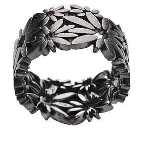 Bastian 9881 Inverun Silber Ring Blüten