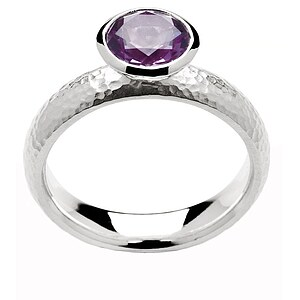 Bastian 9906 Inverun Silber Ring Amethyst