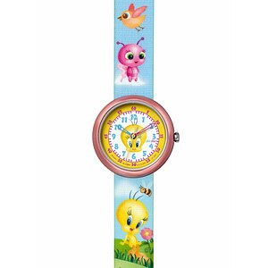 Flik Flak Uhren FLN045 Girls Tweety License Mädchenuhr  mit Tweety-Handtasche Tweety & Friends Hand Bag - 53204