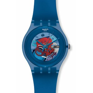 Swatch Uhr SUON 102 New Gent Collection Blue Grey Lacquered - 53296