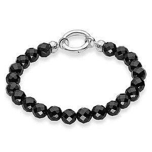 Thomas Sabo A1091-023-11 Special Addition  Armband Obsidian schwarz - 53322