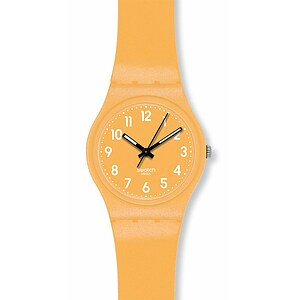 Swatch Uhr GJ 132 Gent Metalized Collection Flaky Yellow - 53741