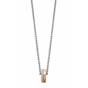 JOOP! JPNL90605B450 Jewellery Necklace Silber Collier Jane roségoldfarben - 53968
