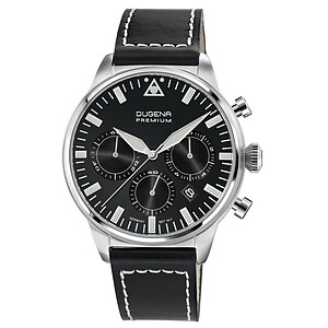 Dugena Premium Herrenuhr 7000179 der Uhrenserie Cockpit