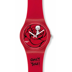 Swatch Uhr GZ 264 Gent Love Collection Catch my Heart - 55165
