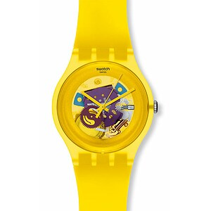 Swatch Uhr SUOJ 100 New Gent Collection Yellow Lacquered - 55201