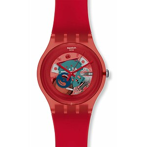 Swatch Uhr SUOR 101 New Gent Collection Red Lacquered - 55205