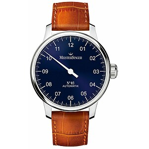 Meistersinger AM908 der Uhren-Serie N°03 Automatik - Die Einzeigeruhr