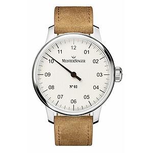 N°01 AM 3301 von Meistersinger die Einzeigeruhr mit Handaufzugwerk