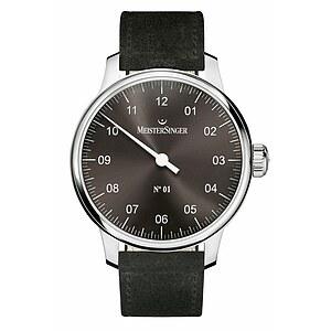 N°01 AM 3307 von Meistersinger die Einzeigeruhr mit Handaufzugwerk