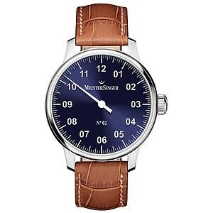 Meistersinger AM6608N der Uhren-Serie N°02 Handaufzug - Die Einzeigeruhr