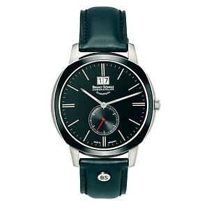 Bruno Söhnle Glashütte Uhren-Serie 17-73146-741 Herrenuhr mit Grossdatum Facetta