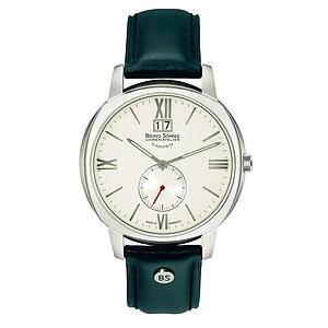 Bruno Söhnle Glashütte Uhren-Serie 17-13146-231 Herrenuhr mit Grossdatum Facetta