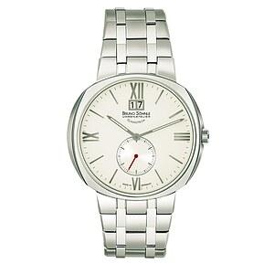 Bruno Söhnle Glashütte Uhren-Serie 17-13151-232 Herrenuhr mit Grossdatum Facetta