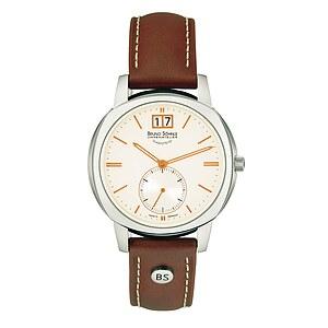 Bruno Söhnle Glashütte Uhren-Serie 17-13147-245 Damenuhr mit Grossdatum Facetta