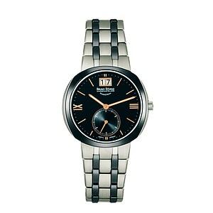Bruno Söhnle Glashütte Uhren-Serie 17-73152-736 Damenuhr mit Grossdatum Facetta