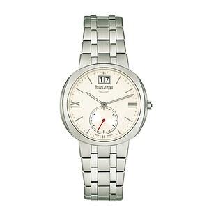 Bruno Söhnle Glashütte Uhren-Serie 17-13152-232 Damenuhr mit Grossdatum Facetta