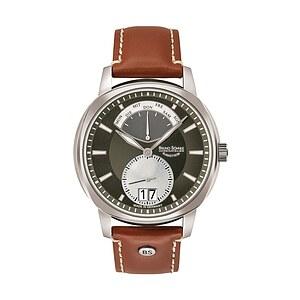 Bruno Söhnle Glashütte Uhren-Serie 17-13155-841 Herrenuhr mit Grossdatum Facetta
