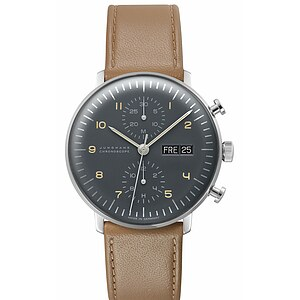 Junghans Uhren-Kollektion 027/4501.04 max bill Chronoscope - 55939