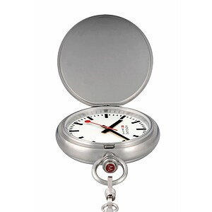 Mondaine Official Swiss Railways Pocket Watch A660.30349.16SBB