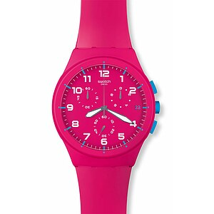 Swatch SUSR 401 New Chrono Plastic Collection Pink Frame - 56216