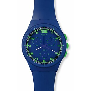 Swatch SUSN 400 New Chrono Plastic Collection Blue C - 56217