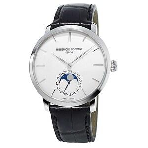 Frederique Constant Herrenuhr FC-705S4S6 der Uhrenserie Slimline Manufacutre Moonphase