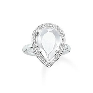 Thomas Sabo TR2043-690-14 GLAM & SOUL Silver Ring BEAUTY OF THE MAHARANI weiß - 57275