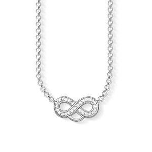Thomas Sabo X0205-051-14-L42v  Charm-Kette Silber CHARM CLUB Infinity kristallverziert 44 cm
