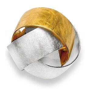 Bastian 11916 Inverun Pendant Silber Anhänger teilvergoldet - kratzmatt