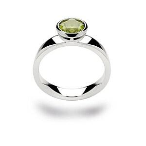 Bastian 12106 Inverun Silber Ring Peridot