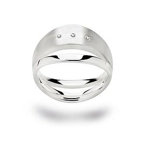Bastian 12148 Inverun Silber Ring Diamanten