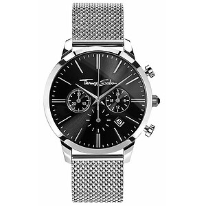 Thomas Sabo Uhren-Serie WA0245-201-203 ETERNAL REBEL CHRONO Mesh Black - 57793