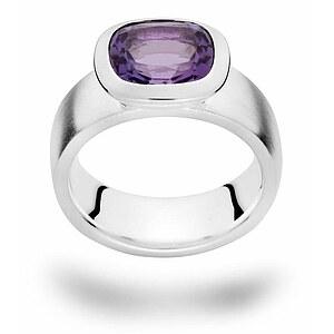 Bastian 12329 Inverun Silber Ring Amethyst
